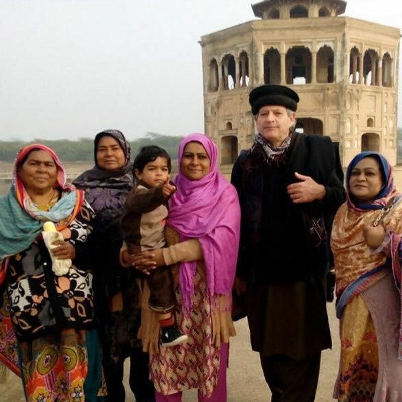 ایرک 4 بار پاکستان آ چکے ہیں — فوٹو: بشکریہ شاہد خان