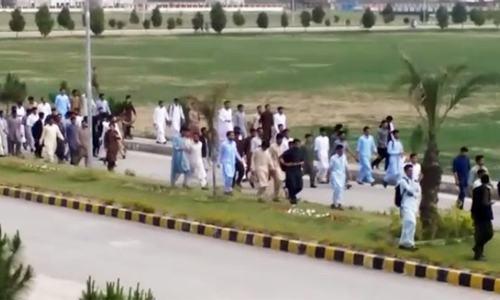 Mardan university takes action against victims; launches probe into 'blasphemous activity'