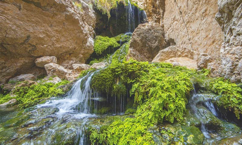 The waterfalls at Chota Chotook.