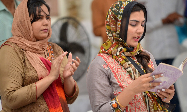 سینٹرل بروکس میموریل چرچ کراچی —فوٹو: اے ایف پی