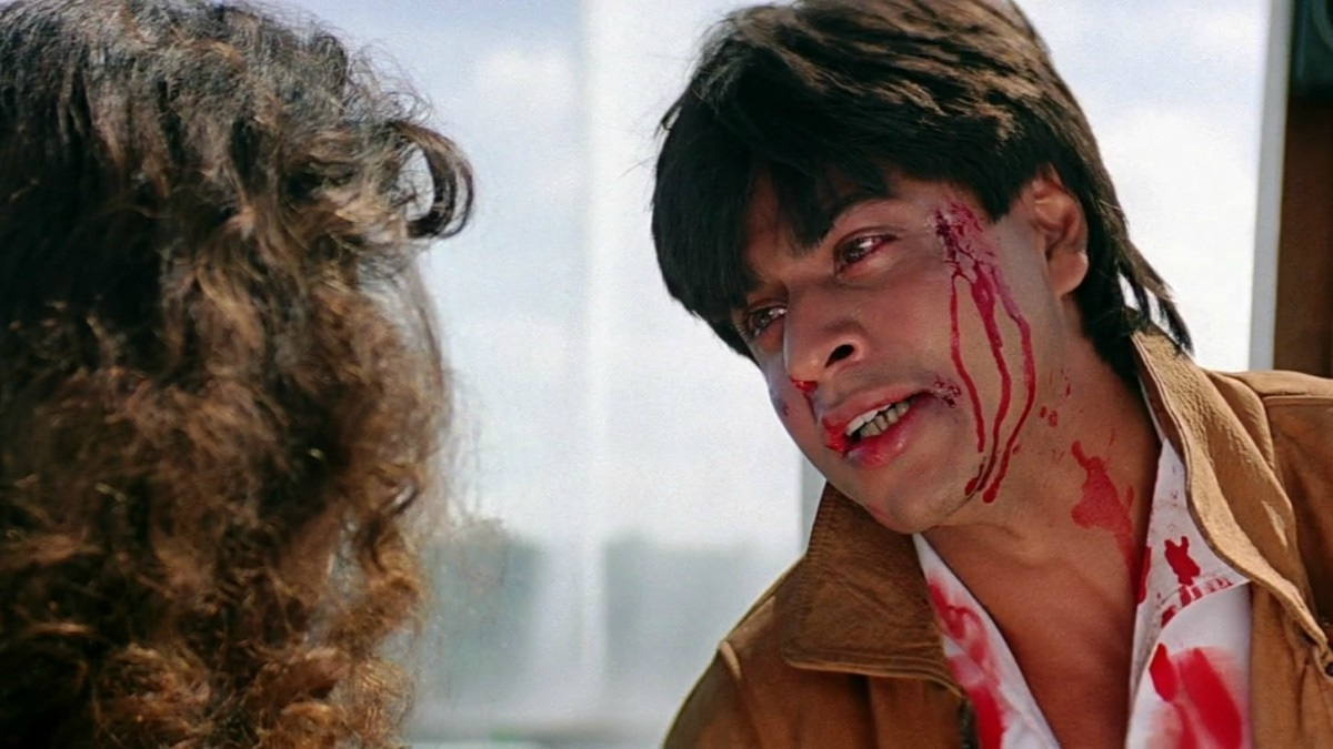 SRK revolutionised the concept of a lead role in early films like Darr