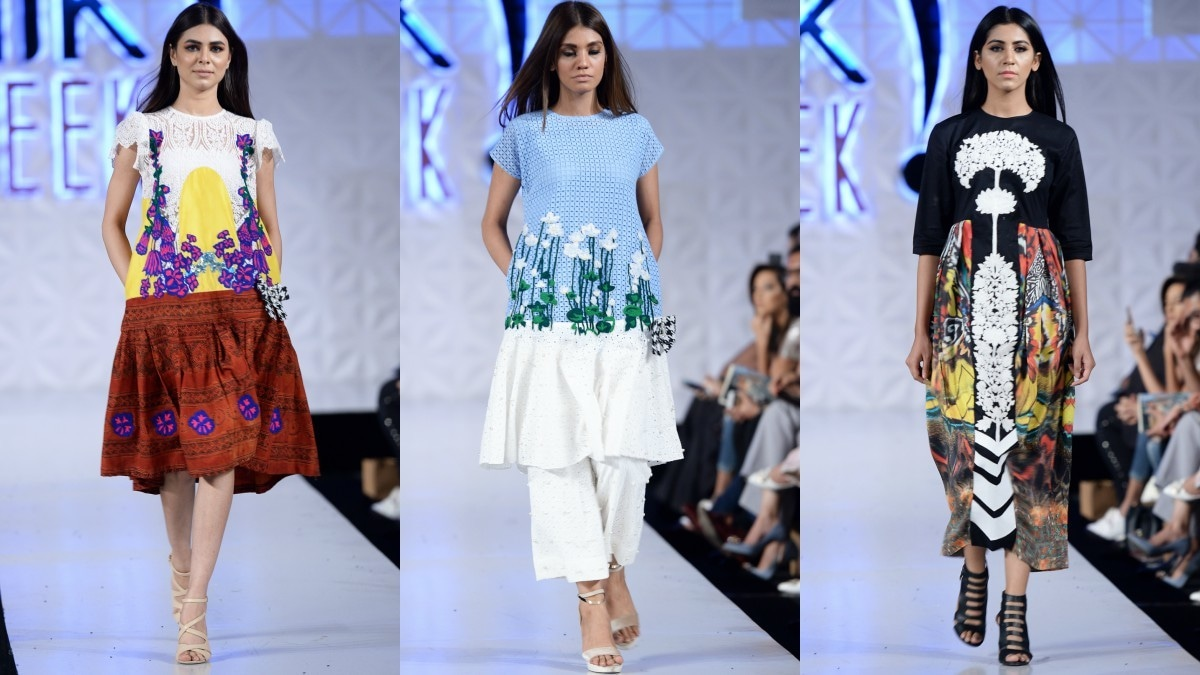 Ali Xeeshan, true to his signature, put together a flamboyant showcase