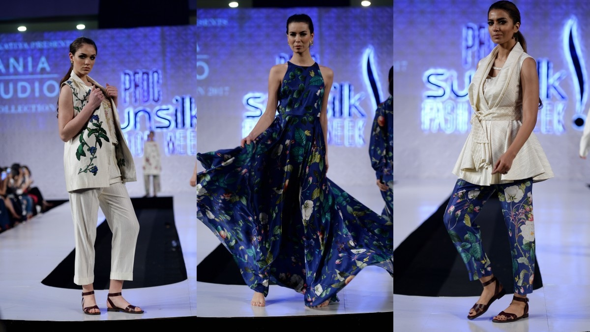 Sania Maskatiya played with digital prints in a fresh, new way for her brand