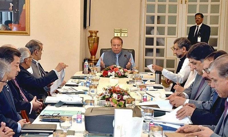 وزیراعظم کابینہ کمیٹی کے اجلاس کی صدارت کرتے ہوئے—فوٹو: اے پی پی