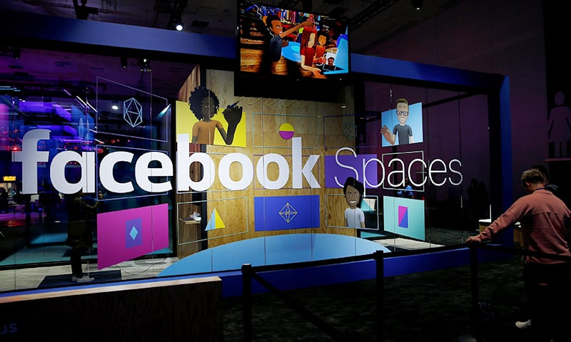 An attendee waits to try the newly announced Facebook Spaces virtual reality platform during the annual Facebook F8 developers conference in San Jose, California. ─ Reuters