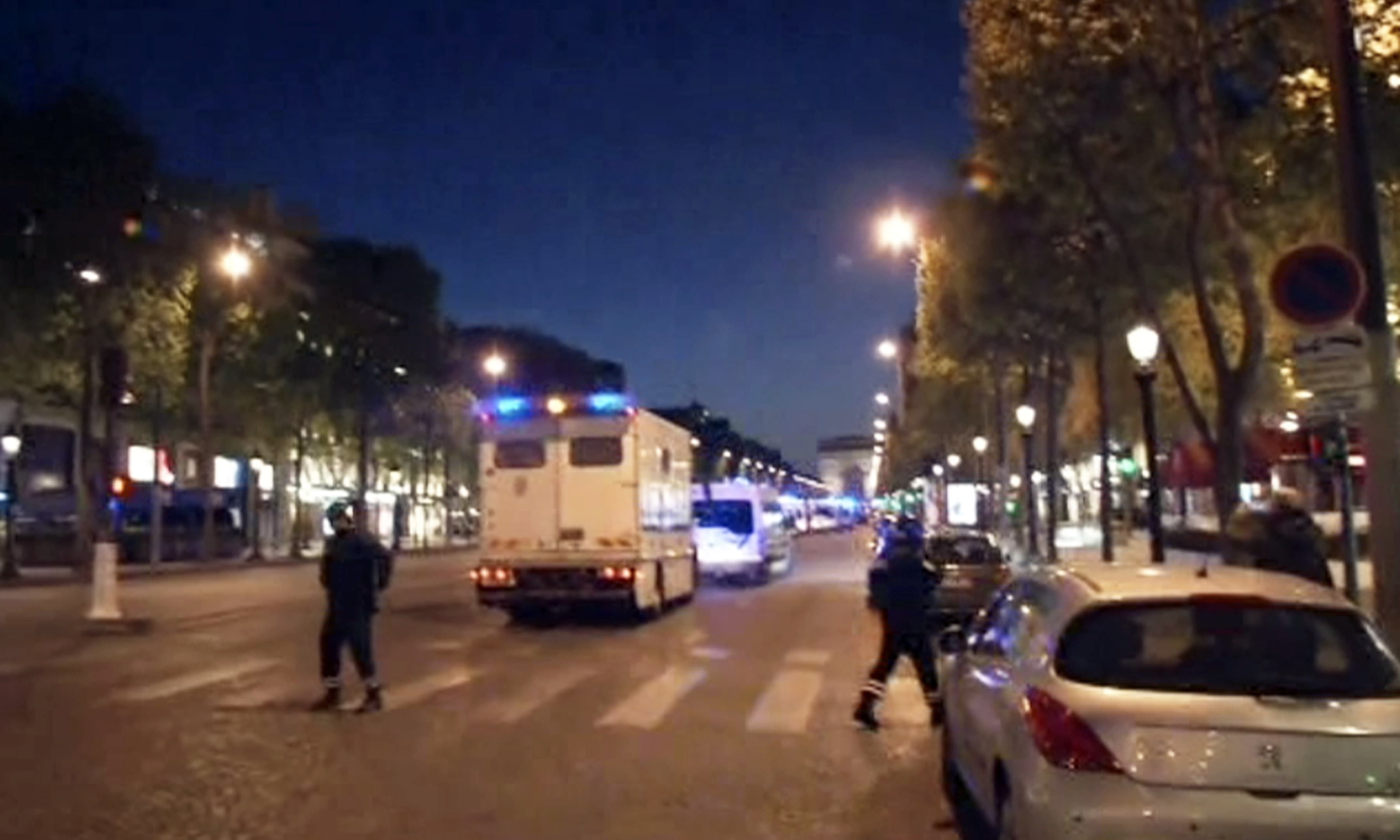 Police officer killed, another wounded in Paris shooting