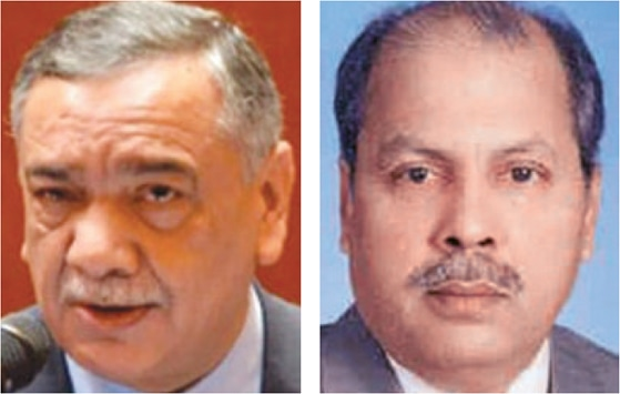 JUSTICE Asif Saeed Khosa and Justice Gulzar Ahmed (right) wrote dissenting notes.