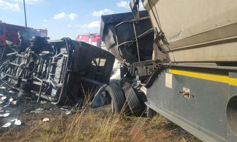 جنوبی افریقہ: ٹریفک حادثے میں اسکول کے 19 بچے ہلاک