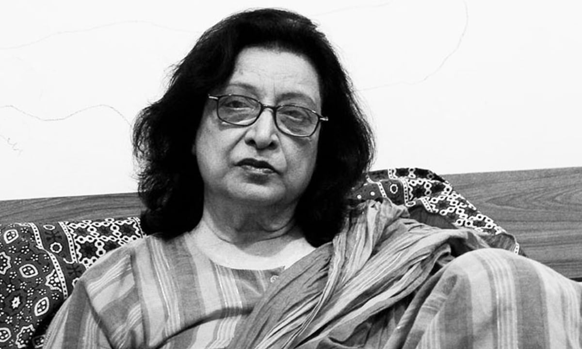 Fehmida Riaz | Photo courtesy: Dawn.com
