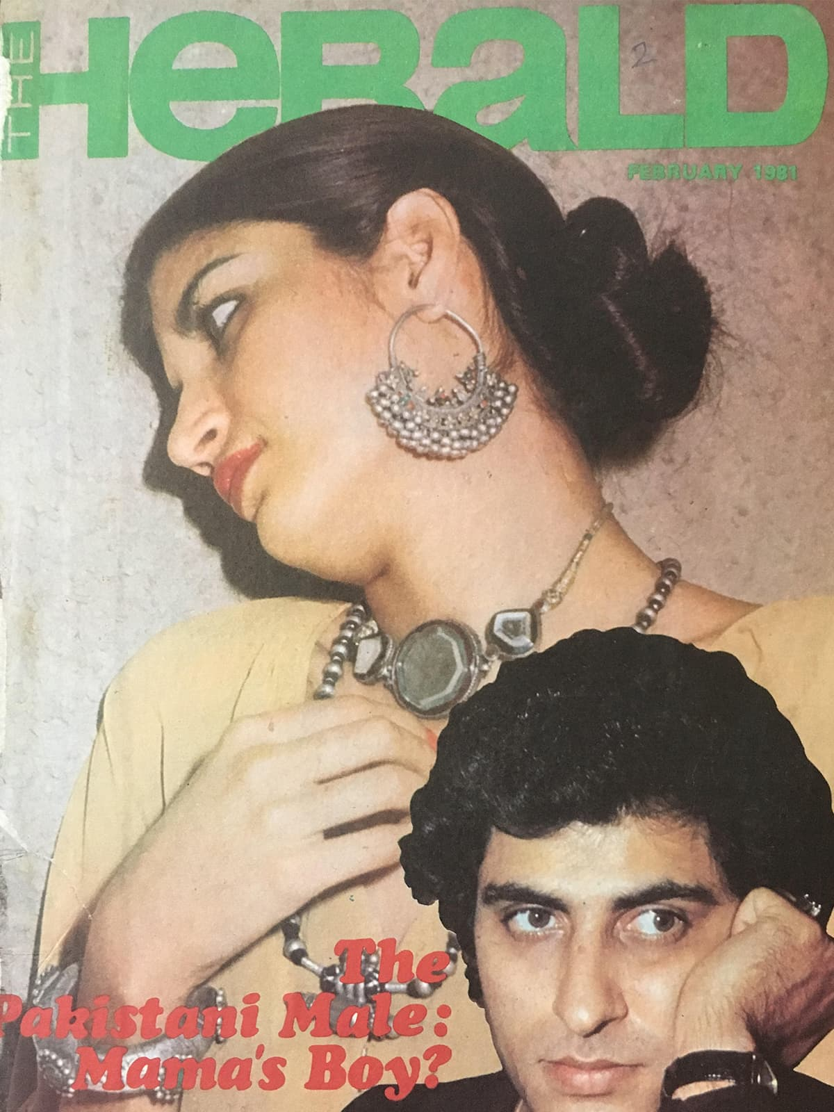 The cover from the February 1981 issue of the Herald