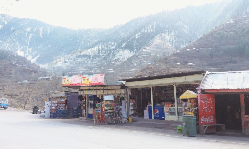The spot to shop for snacks, drinks and umbrellas in Kewai Valley