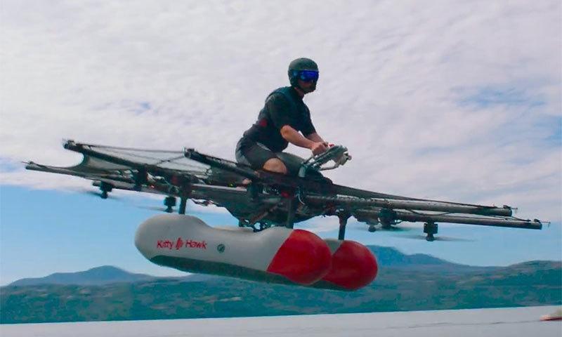 اب اڑنے والی موٹرسائیکل بھی جلد ہوگی دستیاب