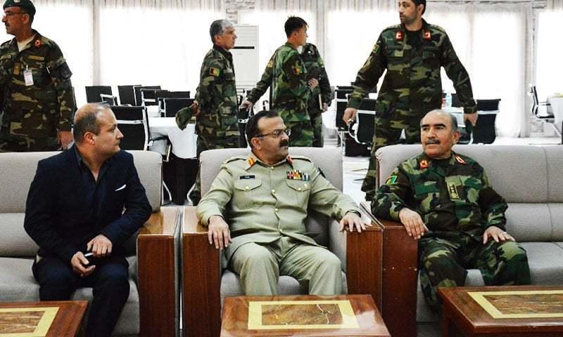 پاک فوج کی اعلیٰ قیادت کی افغان حکام سے ملاقات