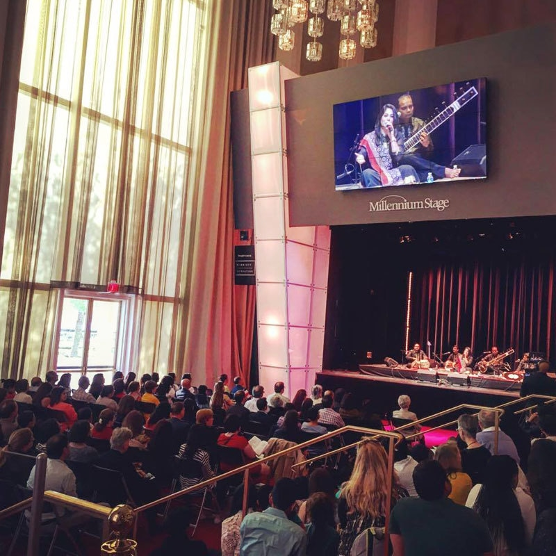 Sanam's last performance at the Kennedy Center.