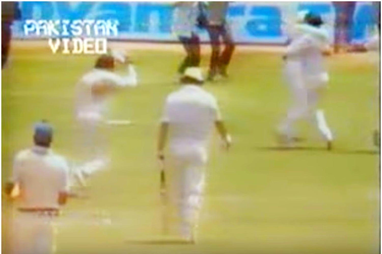 Pakistan wins. Photo: Video Grab.