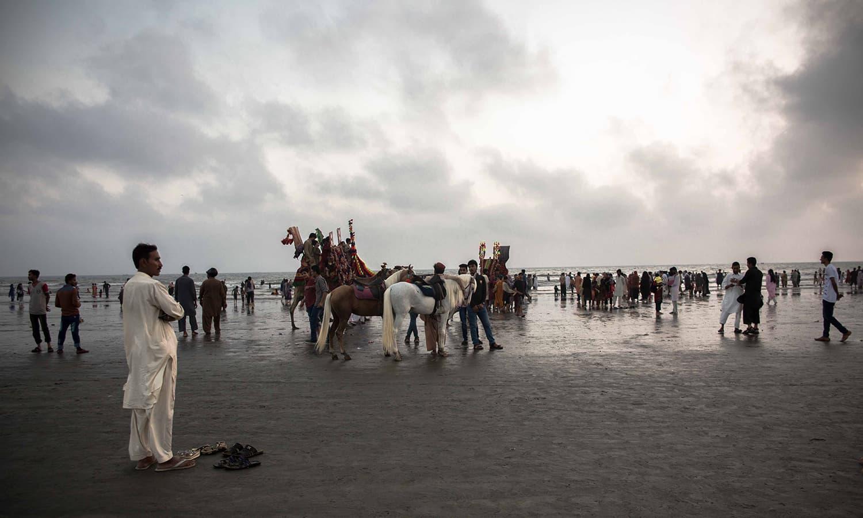 سی ویو، کراچی.