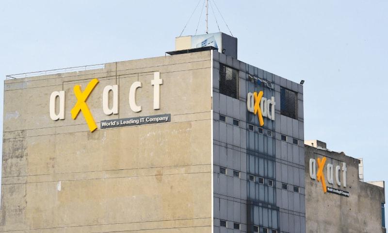 Axact headquarters in Karachi