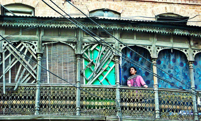 Walking through Rawalpindi'