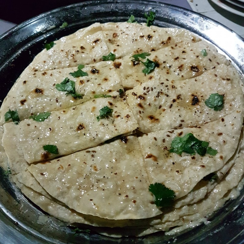 We were served Ghilmindi flatbread