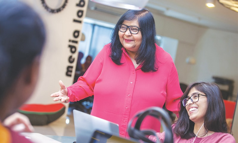TWO and a half years ago Jehan Ara started The Nest i/o in Karachi after taking inspiration from visits to incubation centres in the US and Europe.—Bloomberg