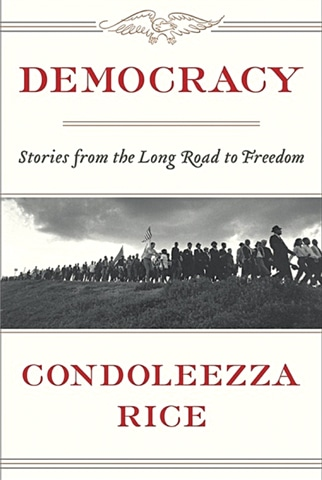 The cover of Condoleezza Rice's new book which was released earlier this month.