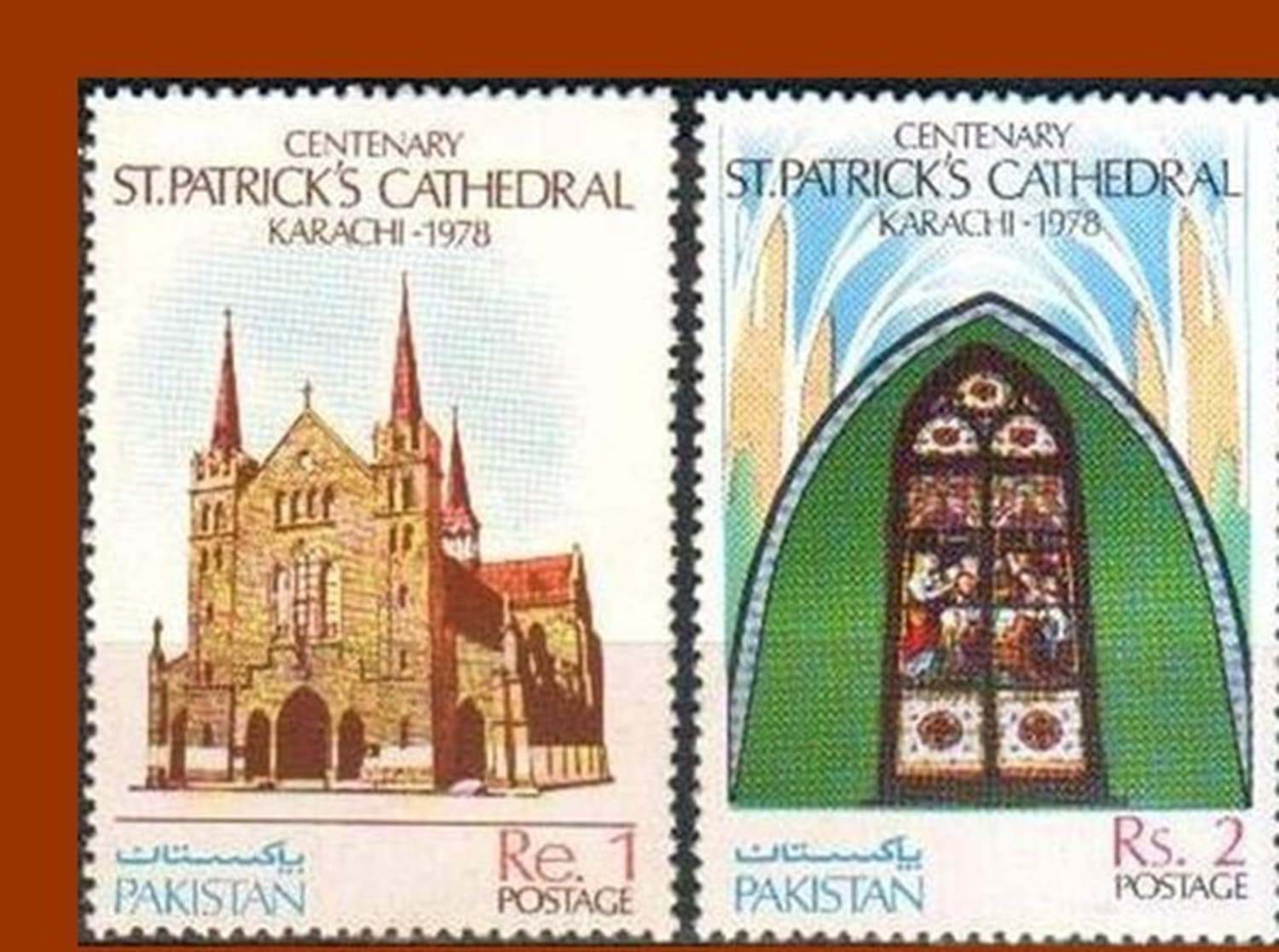 Photo: Pakistan Stamps.