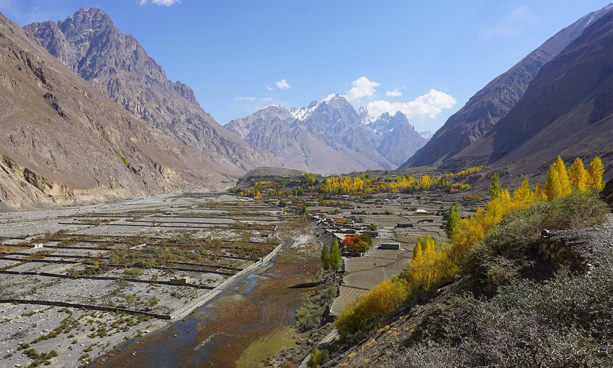 View of Shimshal village upon arrival | Photos by Rocio Otero