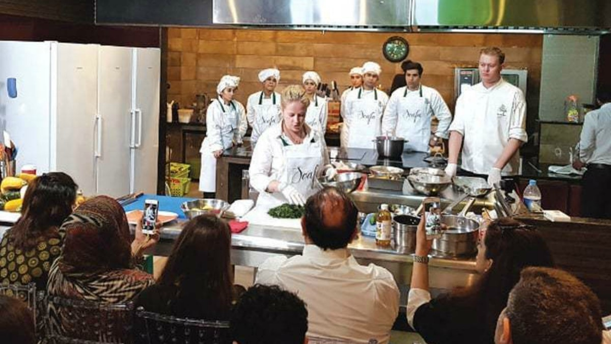 Chef Kamilla Seidler gives Lahore a taste of Denmark