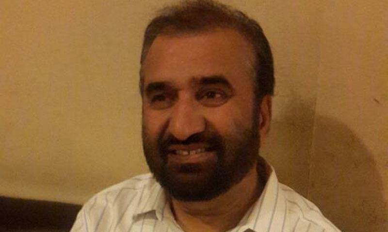 سبطین کاظمی کو ایف آئی اے نے مانچسٹر فرار ہوتے ہوئے ایئرپورٹ سے گرفتار کیا—۔فوٹو/ شکیل قرار
