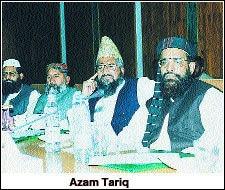 مولانا اعظم طارق کو 6 اکتوبر 2003 کو اسلام آباد میں فائرنگ کرکے قتل کردیا گیا تھا—فائل فوٹو