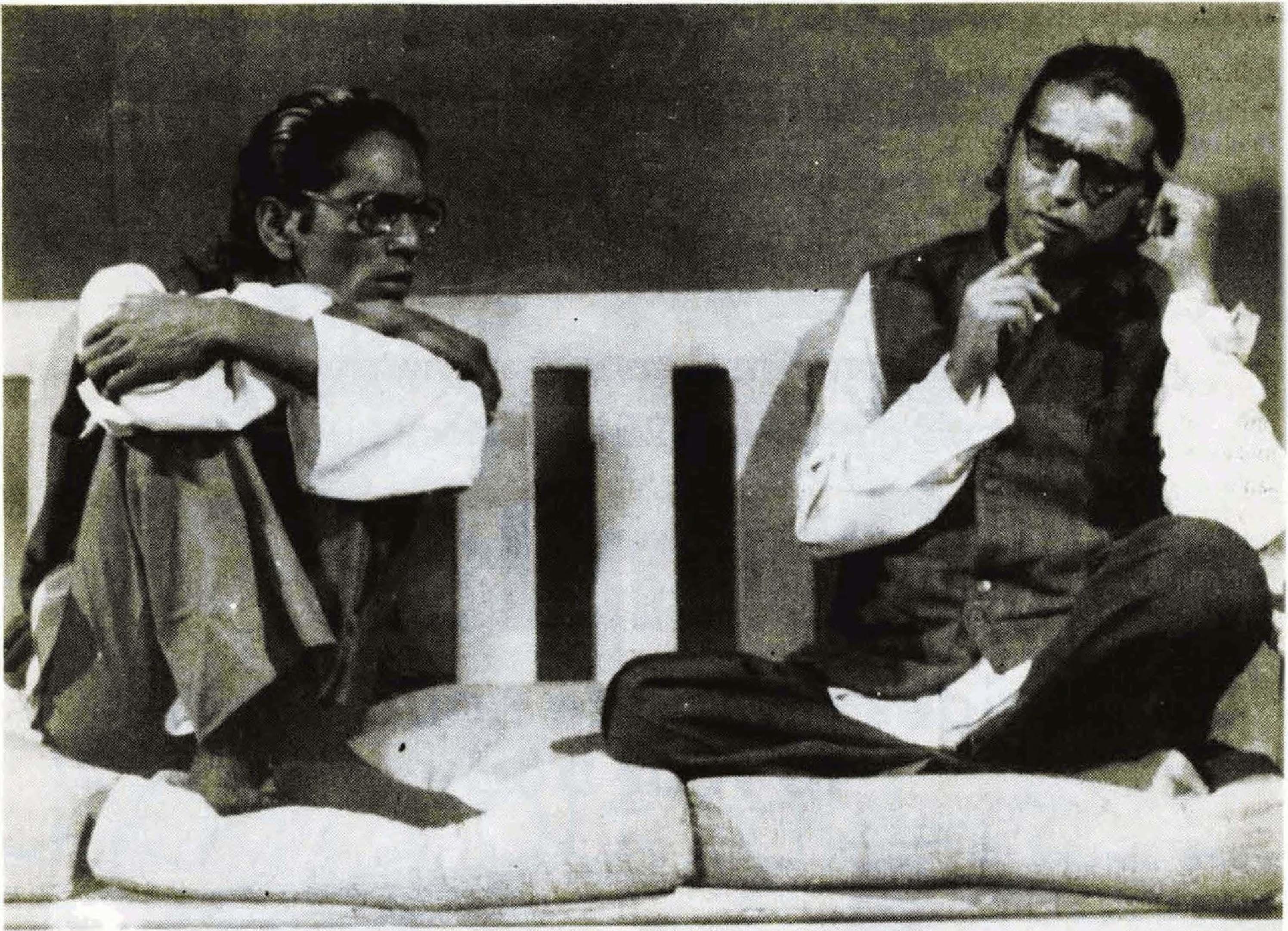 Majid Jehangir and Ismail Tara | Photo by Ahmad Ali