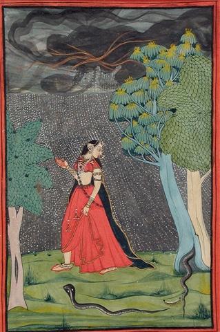 Kama Abhisarika Nayika (c. 1743-1883)