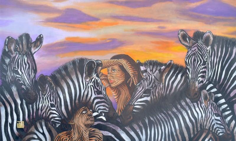 A Zebrascape Odyssey I