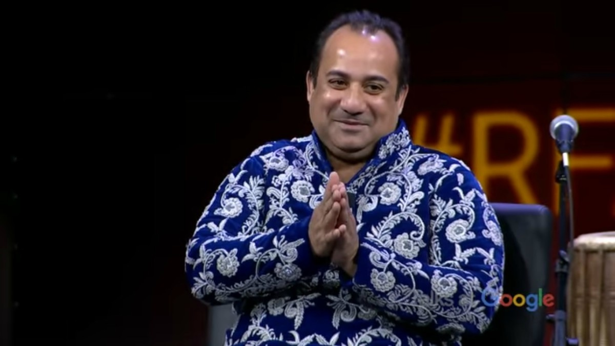 Rahat Fateh Ali Khan talks Sufi music heritage in a livestream with Google