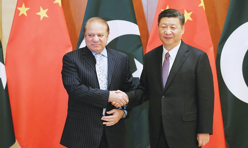 PM tells Chinese president about CPEC efforts