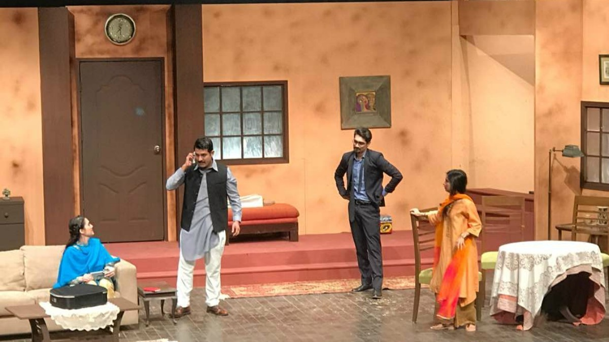 Ishitaq Umar gave a standout performance as Abid