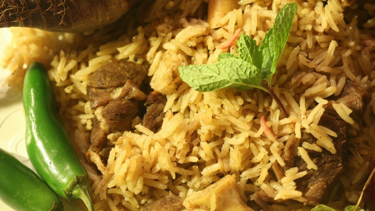 Pulao is made best with lamb