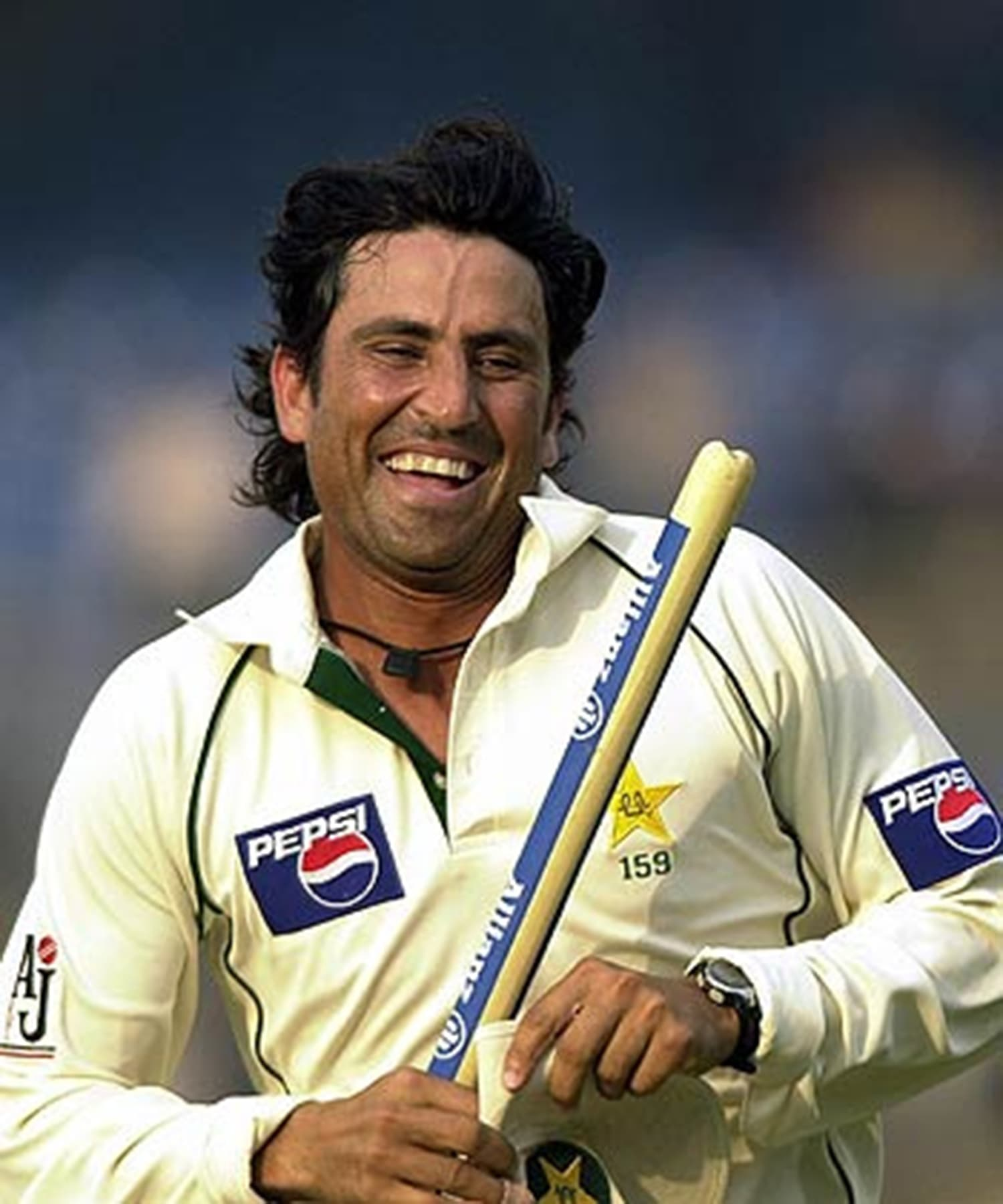 Younis Khan in 2006. — Photo: Umer Farooq