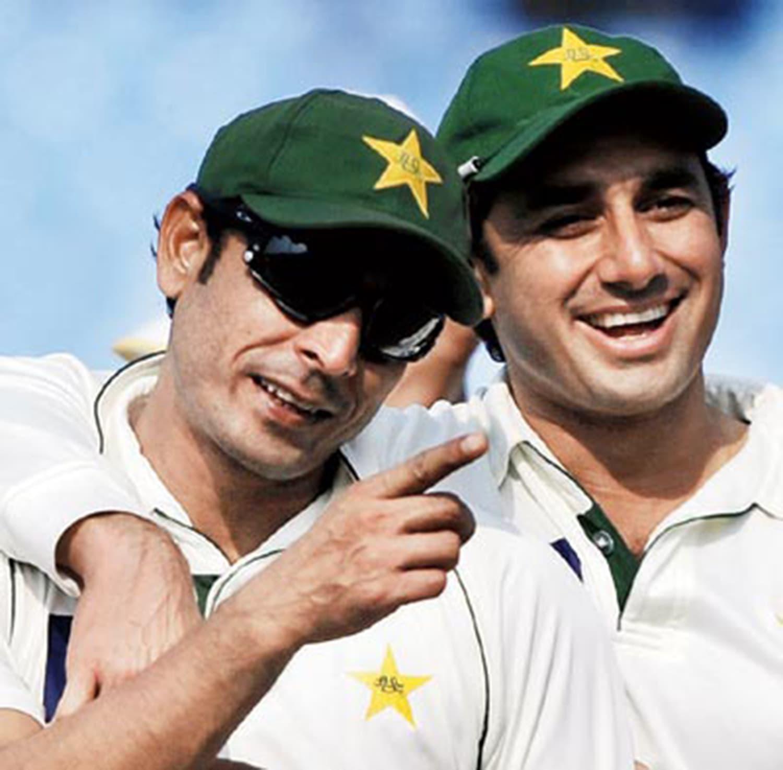 Abdul Rehman and Saeed Ajmal. — Photo: Coastal Digest