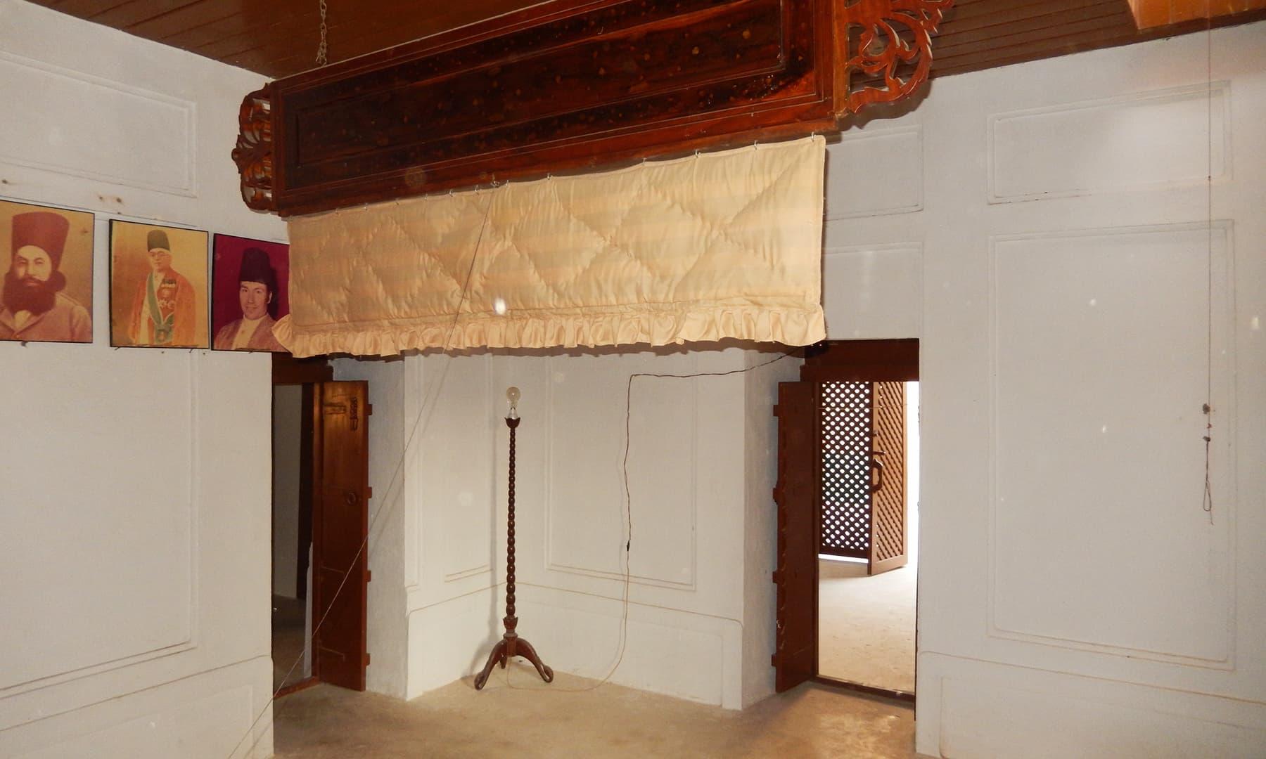 محل کا ایک کمرہ — تصویر ابوبکر شیخ