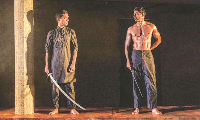 DANNY Ashok (Humayun) and Darren Kuppan (Babur) in Guards at the Taj. —The Guardian