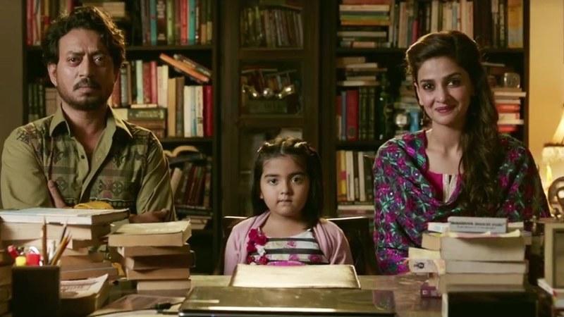 Saba Qamar and Irrfan Khan make the most of Hindi Medium's slightly shallow script