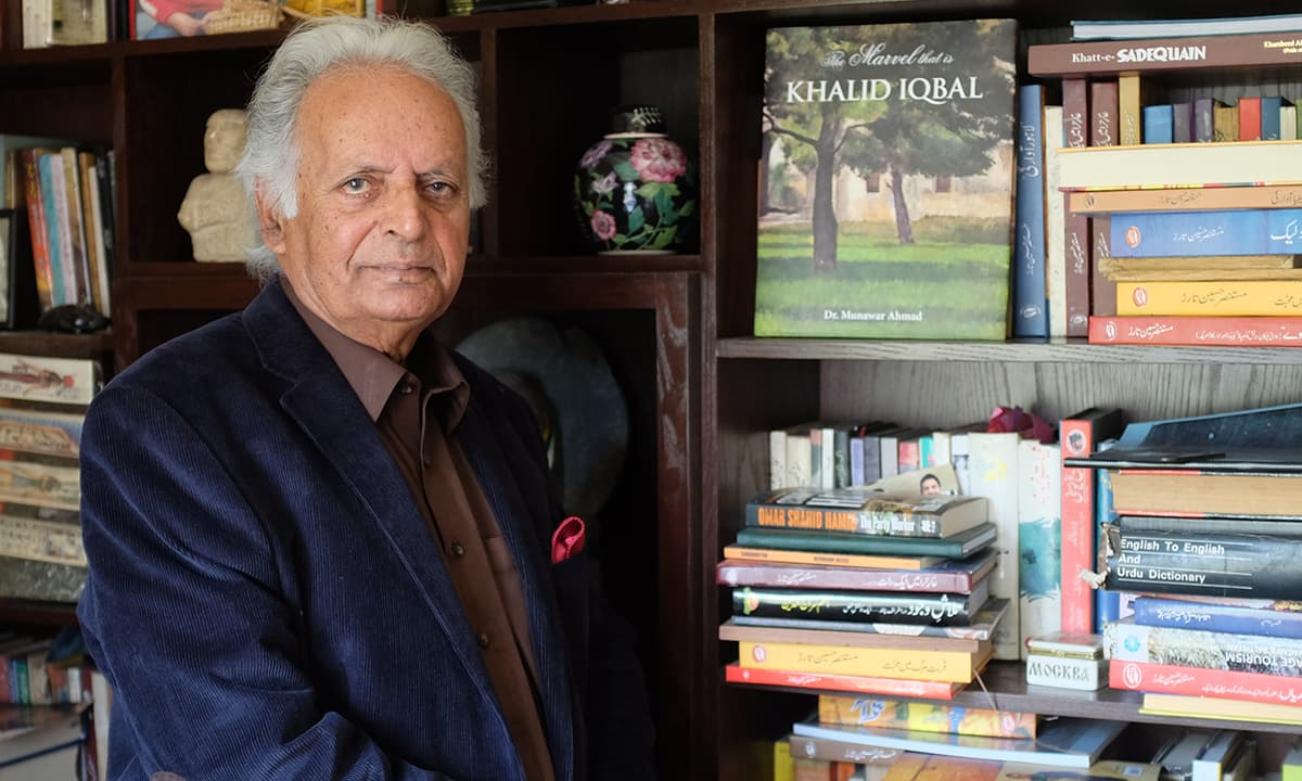 Mustansar Hussain Tarar | Photo by Ayesha Vellani