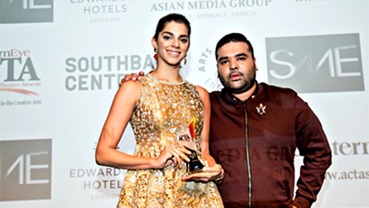 Sanam Saeed wins best actress at Eastern Eye Awards