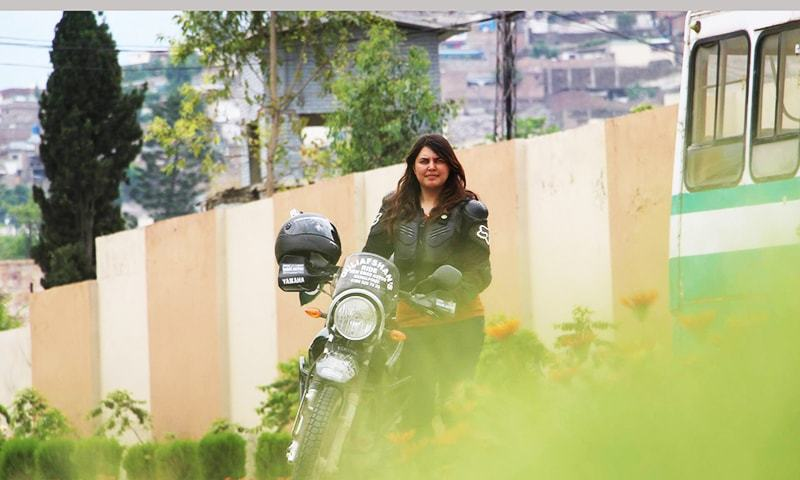 Breaking barriers: The girl who rode a motorbike through Khyber Pakhtunkhawa