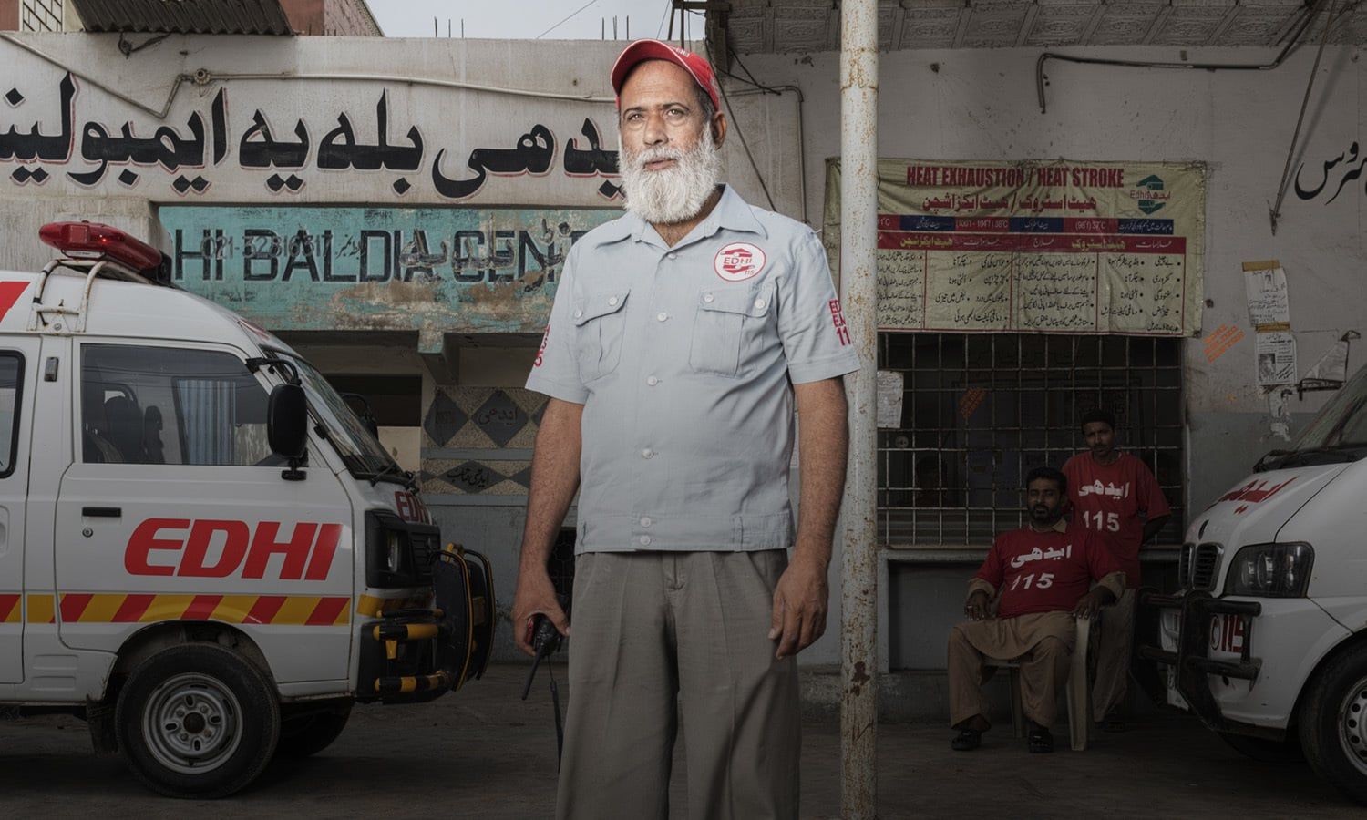 <h2>RISKING LIVES; SAVING LIVES</h2> <p>International Red Cross and Red Crescent Movement's 'Healthcare in Danger' project seeks to spread awareness about the violence against healthcare and the impact it can have. <p>Here, we look at some of Karachi's dedicated healthcare workers who put their own lives on the line to save others.