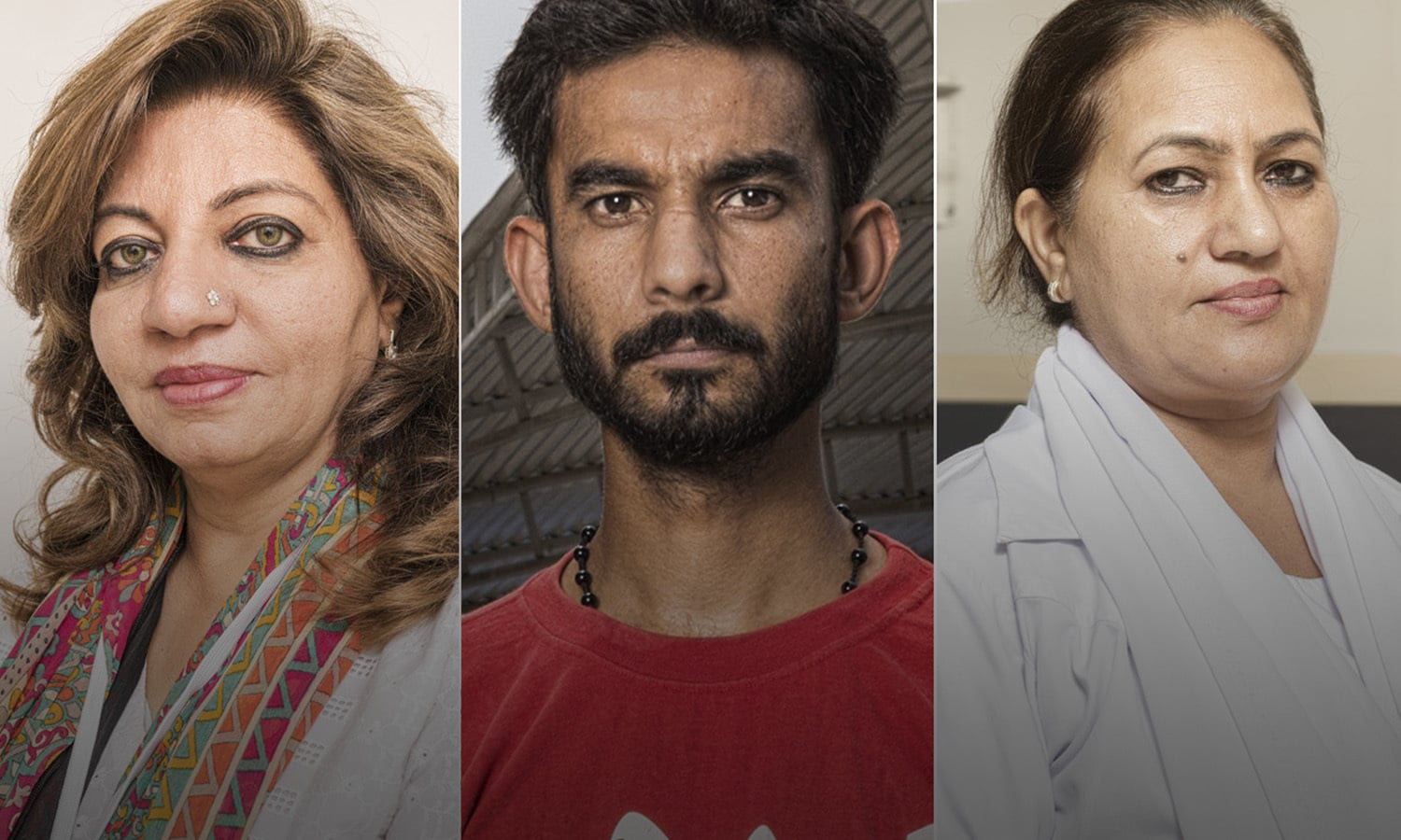<h1>In the line of duty</h1> <h2><em>Healthcare workers are Karachi's unsung heroes.</em></h2> <h4>Images and information courtesy ICRC</h4>