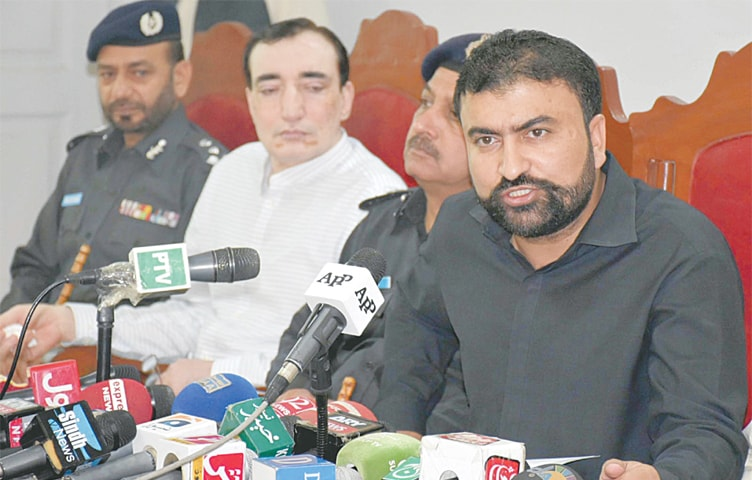 Shah Noorani shrine bombing, lawyers attack suspects arrested: Bugti