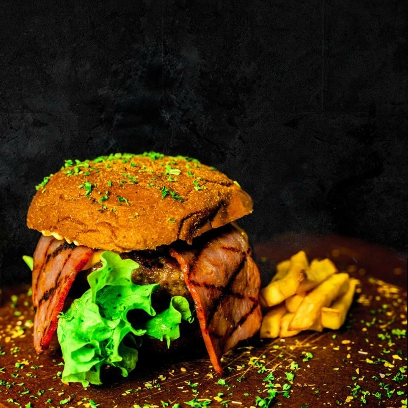 The Colombian Beef Lord is the most popular item on the menu
