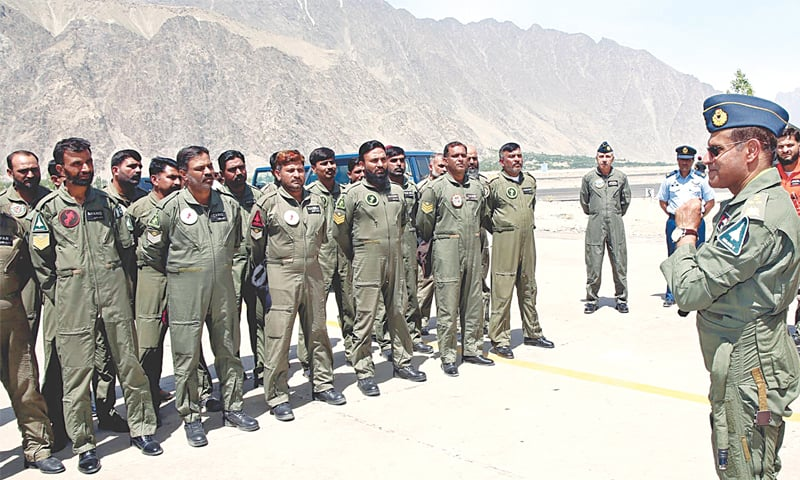 PAF chief warns India against any misadventure